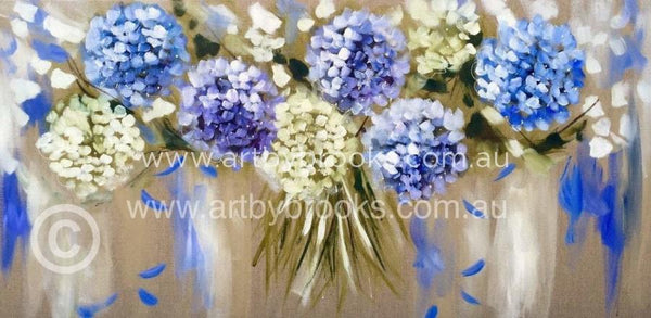 Hydrangeas - Art Print Art Prints