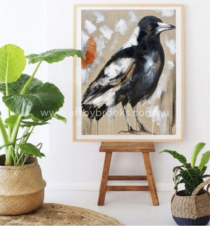 Magpie Beauty - Art Print Art