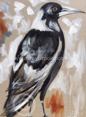 Magpie Song - Art Print Art