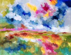 My Beloved Country-Original On Canvas 120X150 Cm Originals