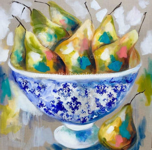 Pear Delight - Art Print Art