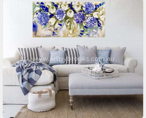 Perfumed Season - Original On Canvas 75 X150 Cm Originals