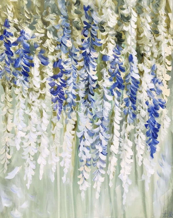 Perfumed Wisteria - Art Print Art Prints