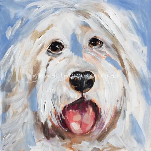 Pet Portrait - 50X50Cm Originals