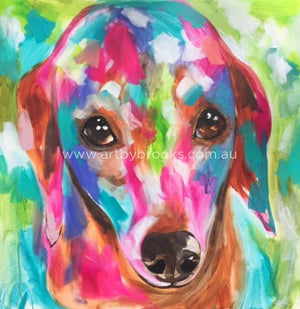 Pet Portrait - 60X60 Cm Original