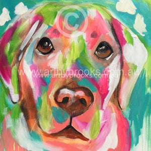 Pet Portrait - Buddy 60X60 Cm Originals