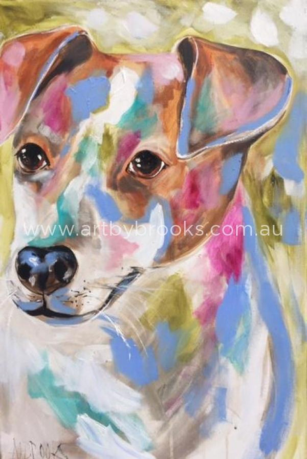 Pet Portrait - Coco- 50X75 Cm Originals