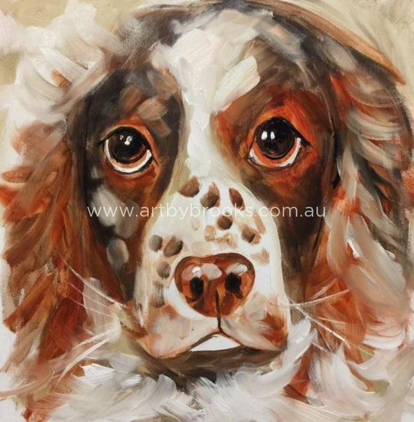 Pet Portrait - Commisioned 50 X50 Cm Originals