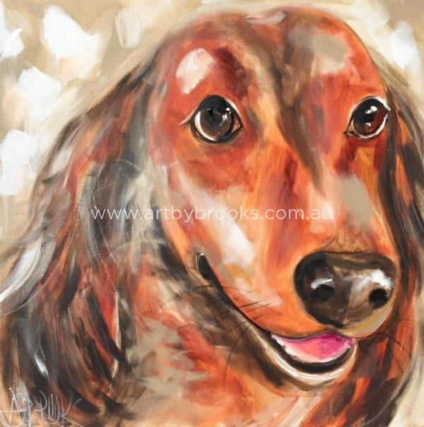 Pet Portrait - Pierre 60 X 60Cm Originals