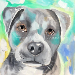 Pet Portrait - Rocco 50X50Cm Originals