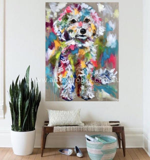 Pet Portrait - Teddy 90X120Cm
