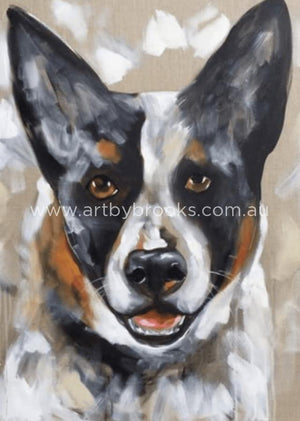 Pet Portrait - Turbo 60X90Cm