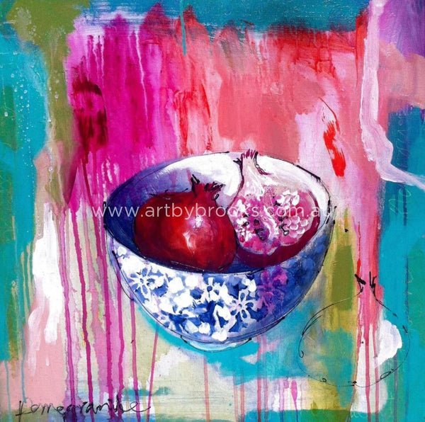 Pomegranate Punch-Art Print Art Prints