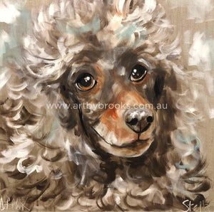 Stella- Pet Portrait 60X60Cm Pet