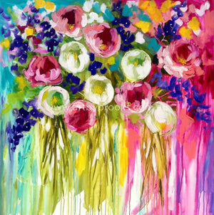 Summer Blooms - Art Print Art Prints