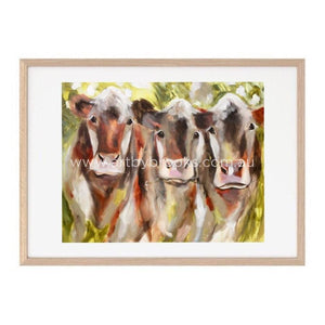 The Girls -Art Print Art