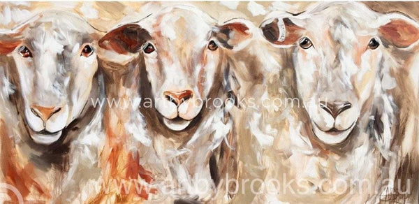 Three Of Us - Art Print Art Prints