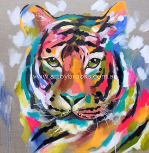 Tiger Tribe - Art Print Art Prints