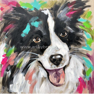 Tillie - Pet Portrait 60X60 Cm Pet