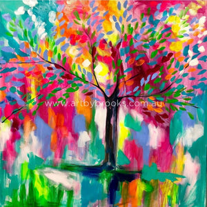 Tree Of Promise - Art Print Art