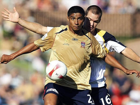 Mario Jardel during his time with Newcastle Jets
