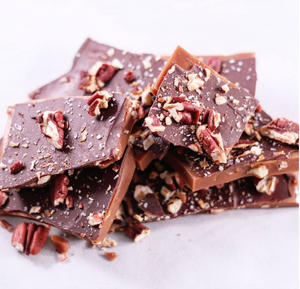 Sea Salt and Pecan Toffee