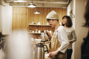 Beyond Coffee Roaster visits Kurasu: Guest Barista + Workshop