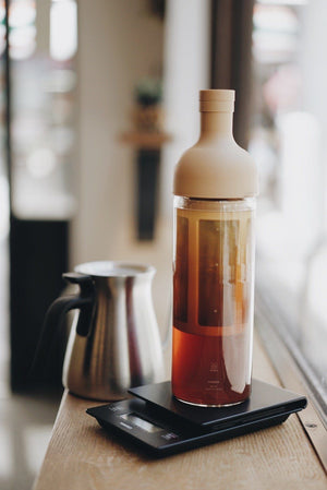 Kurasu's Recipe for Cold Brew Coffee: HARIO Filter in Cold Brew Coffee Bottle