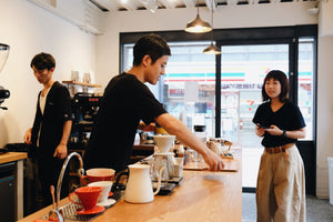 4/4 SEASONS COFFEE Guest Barista + Espresso Seminar Photo Report