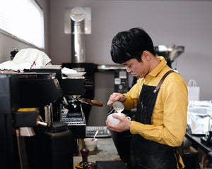 hazeru coffee (Toyama): February 2019 #KurasuPartnerRoaster
