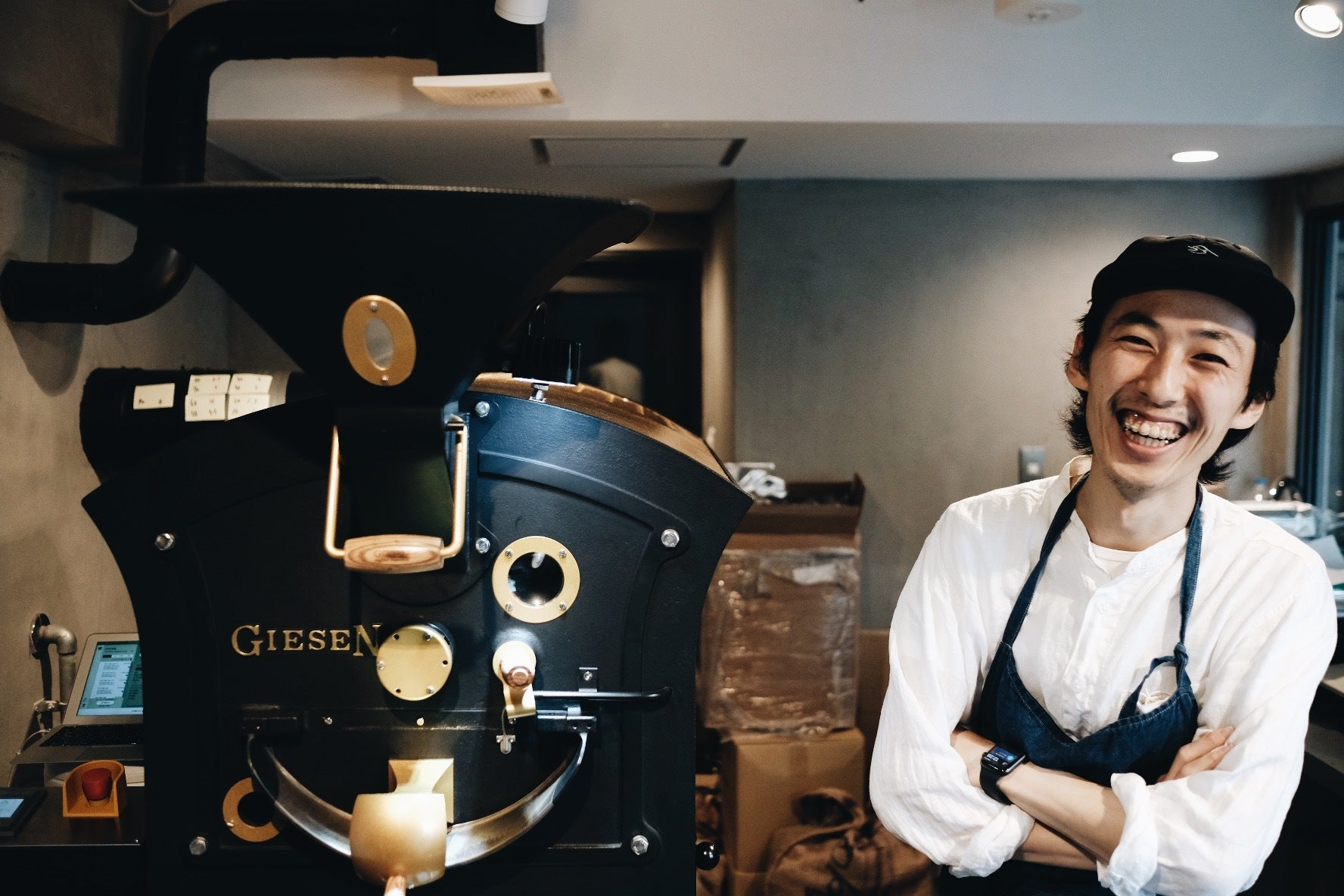 Meet Your Barista (and Roaster!) : Kosuke