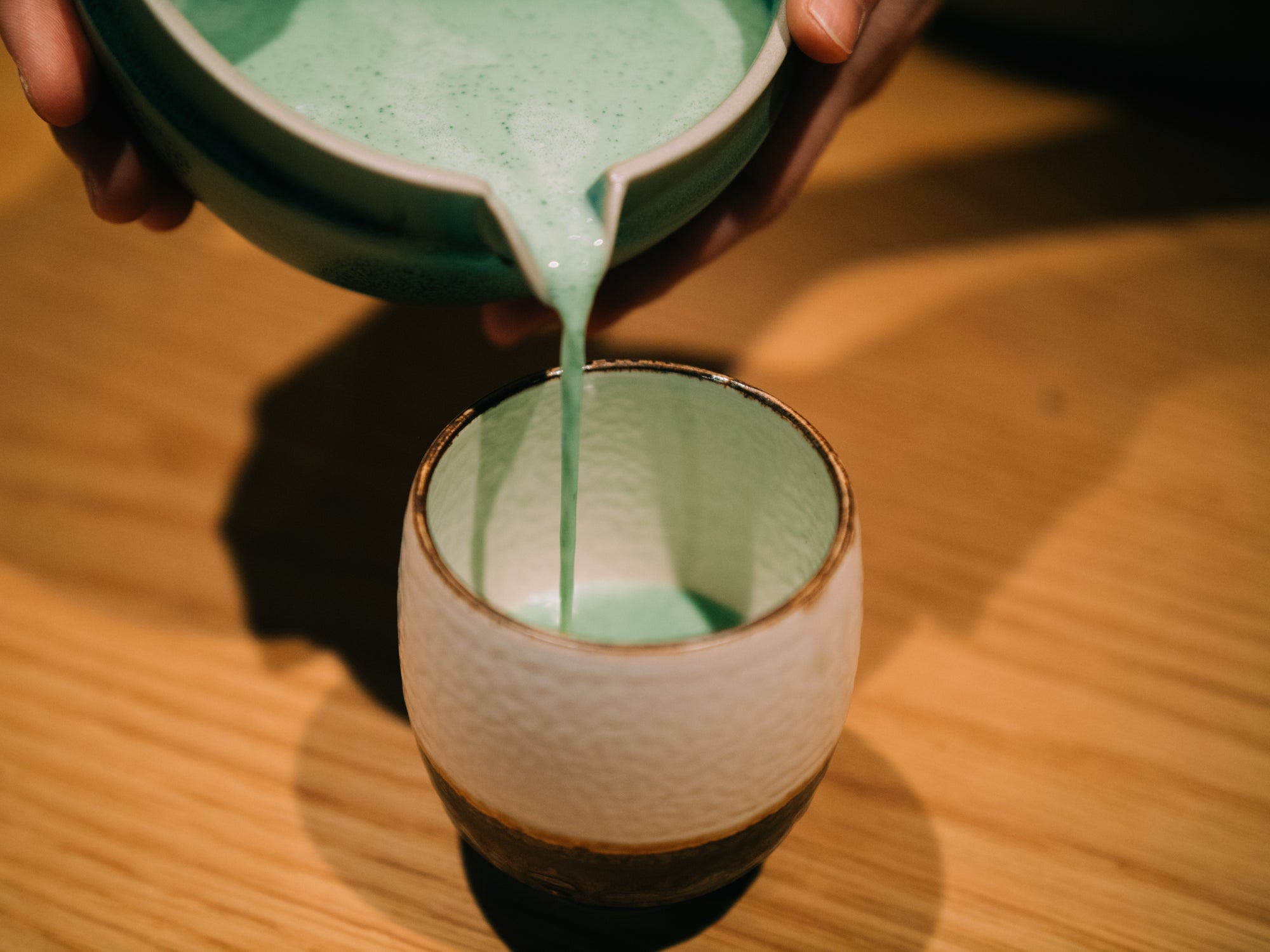 Make your own Matcha green tea latte at home