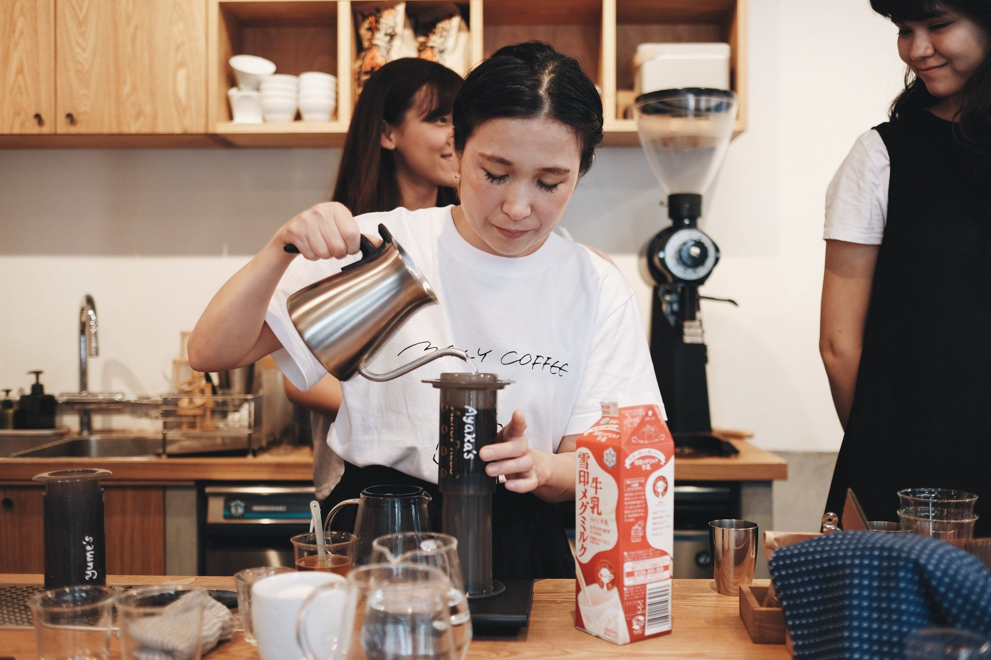Guest Barista/ Aeropress Seminar with MANLY COFFEE Event Photo Report