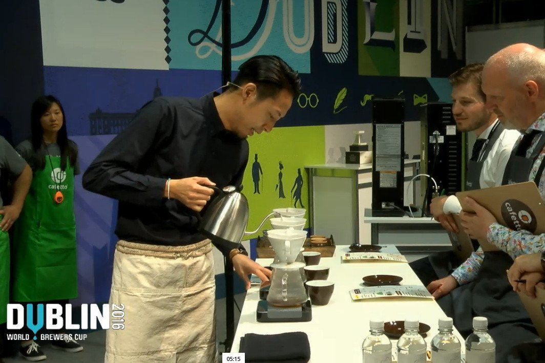 Winning receipe of 2016 World Brewers Cup Champion Tetsu Kasuya