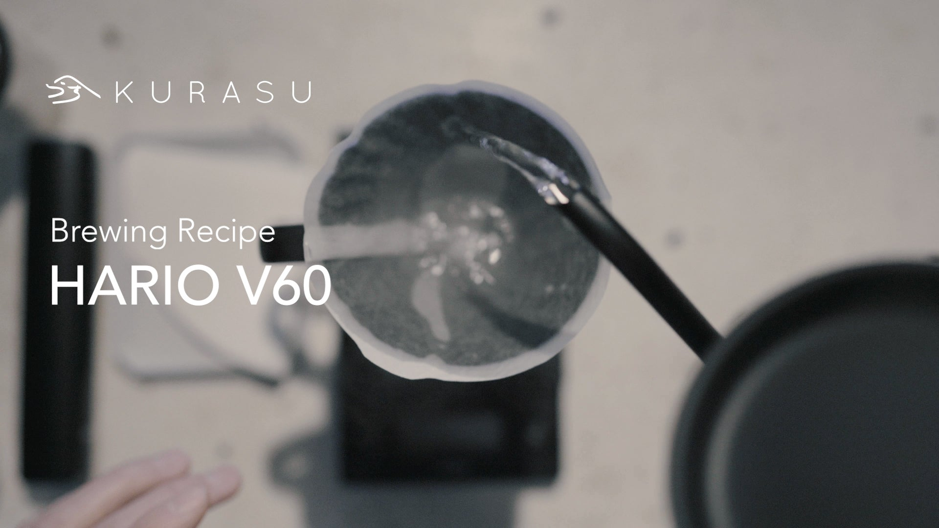 How to brew with Hario V60 recipe by Kurasu Kyoto