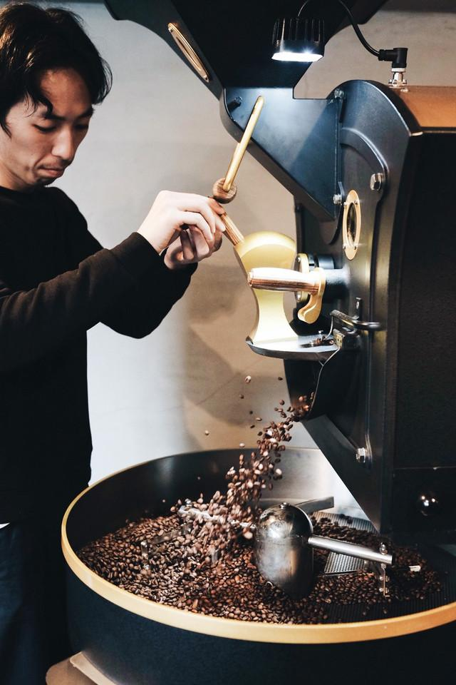 Kosuke's talk on coffee roasting: My quest for freedom