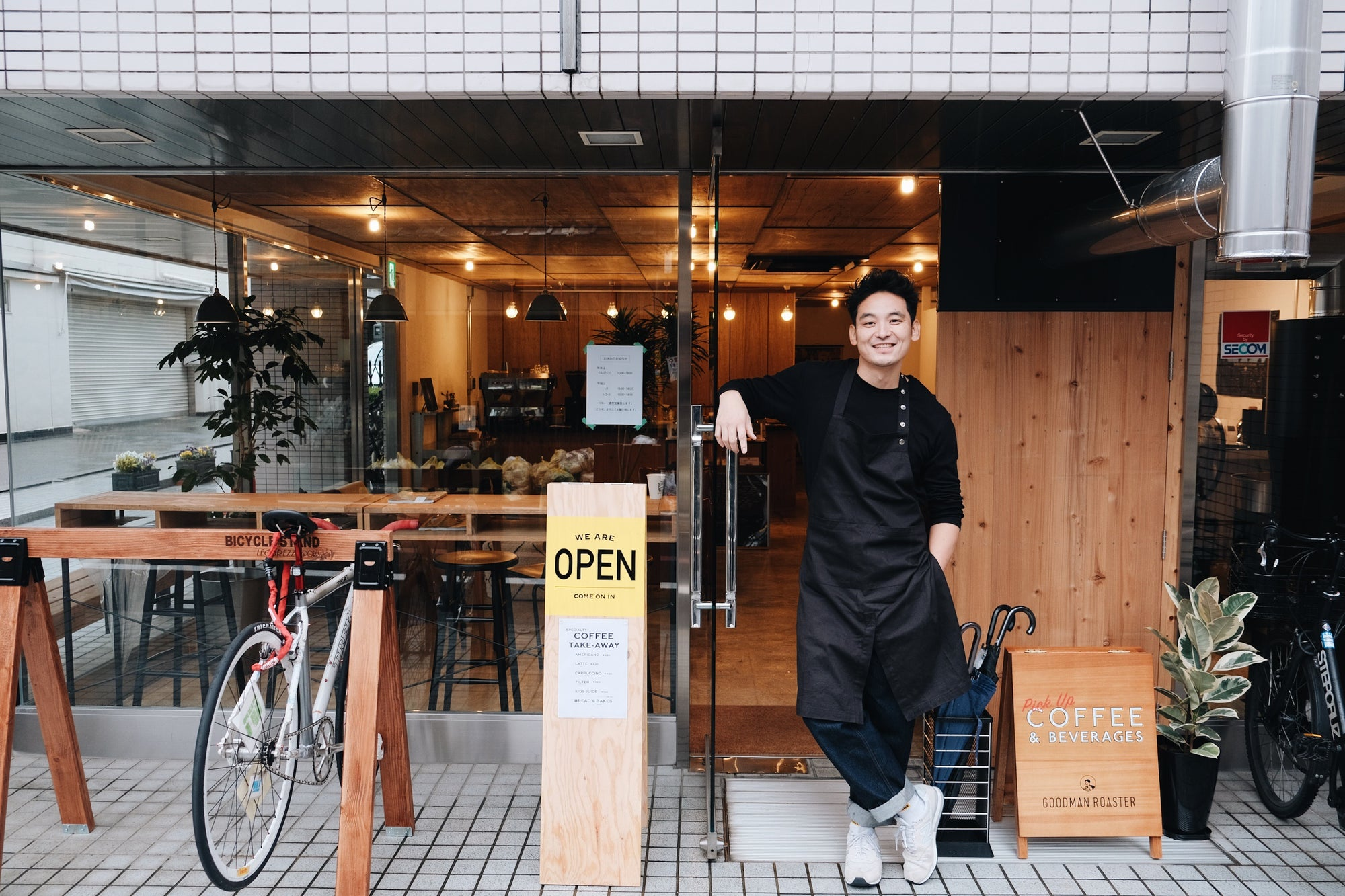 Goodman Roaster Kyoto (Kyoto): 2020 January Kurasu Partner Roaster Subscription