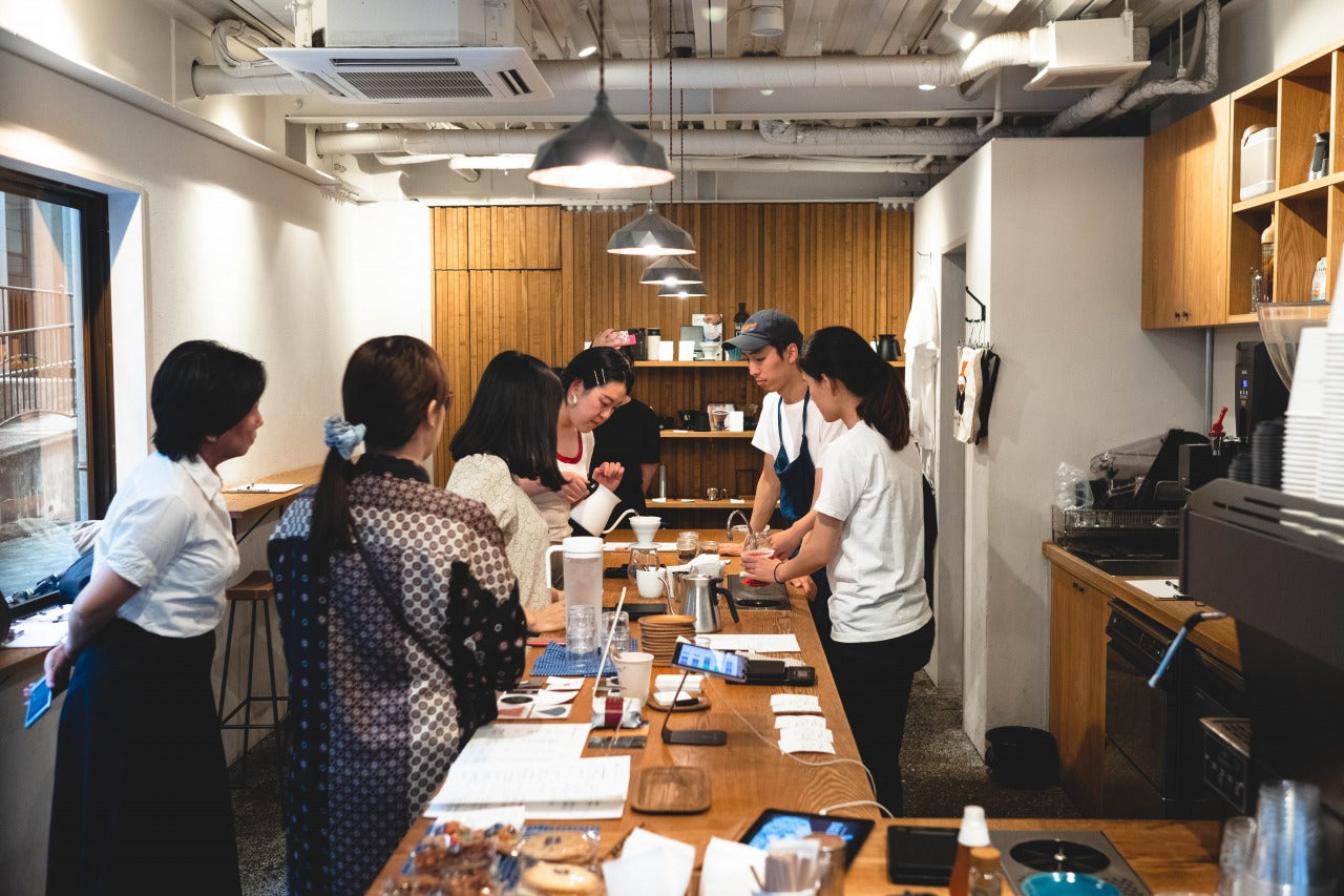 Hand Drip Seminar July 10th: Event Report by Ayaka