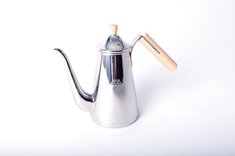 Kalita Tsubame Drip Pot Slim Wood Handle (0.7L)