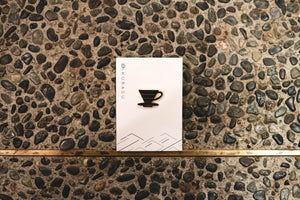 Kurasu Original Design Enamel Pin Badges Merchandise Kurasu Kurasu Original Dripper