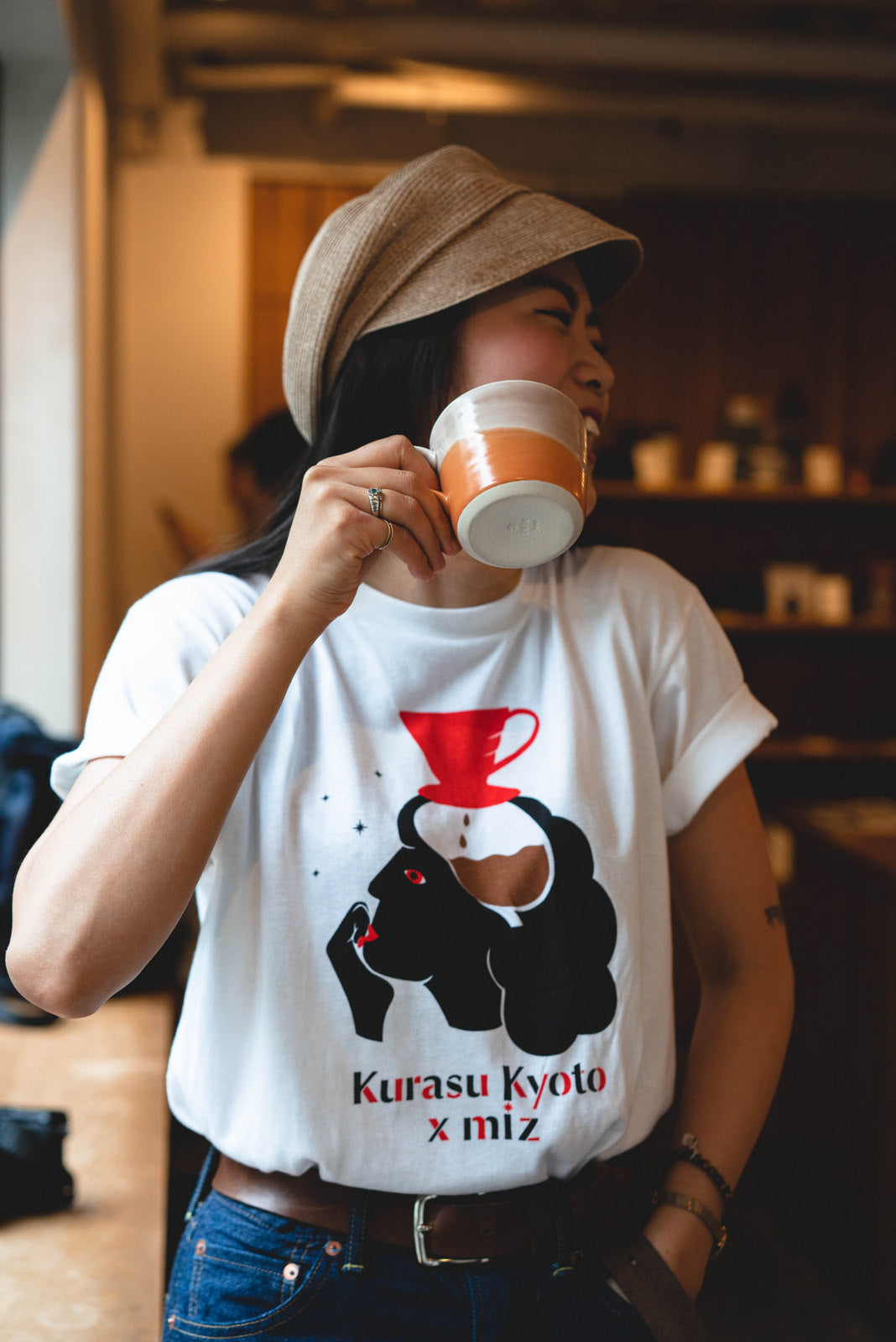 Kurasu x Miz Collaboration T-shirt