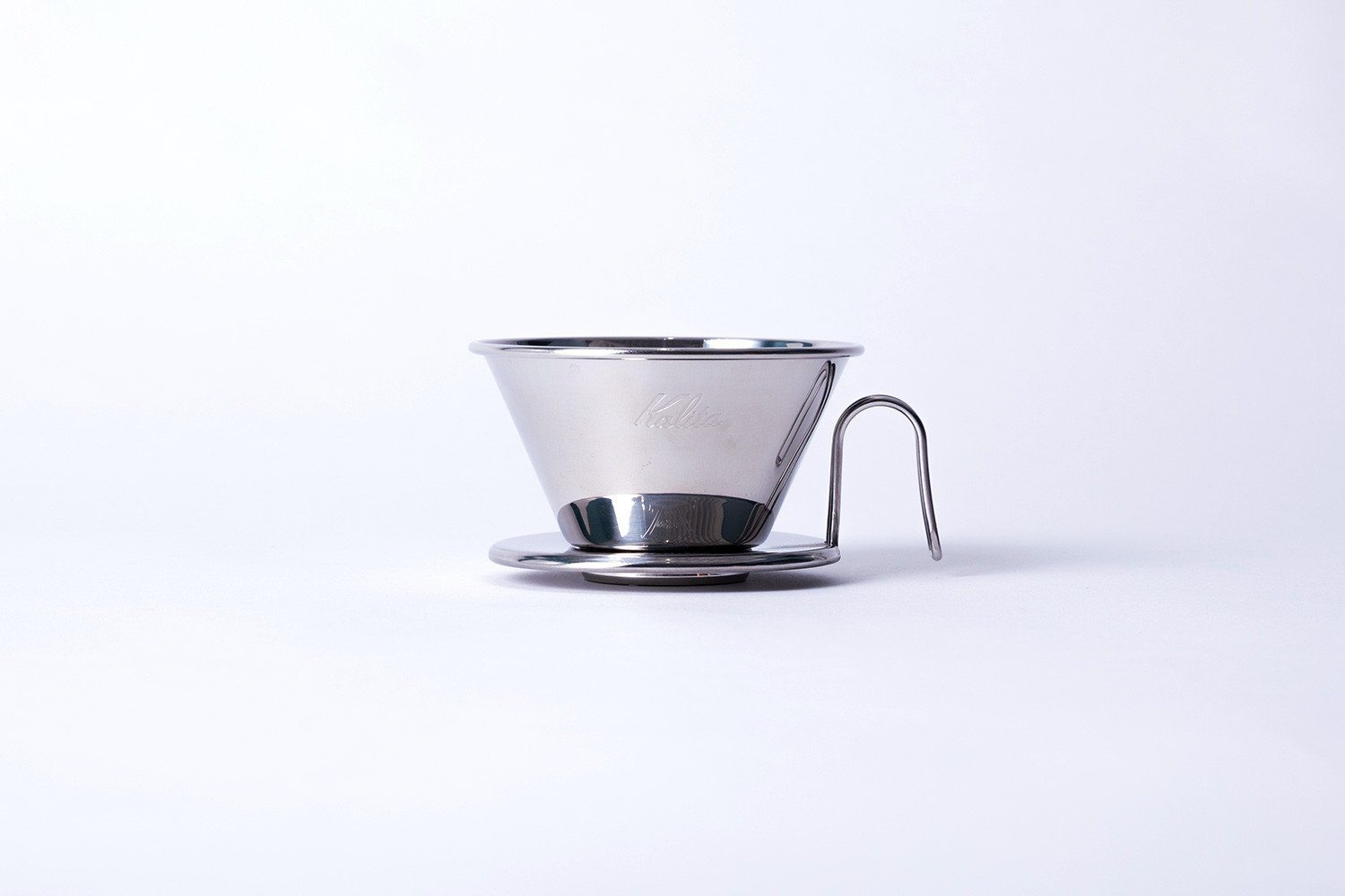 Kalita Wave Tsubame 185 Stainless Dripper Kalita