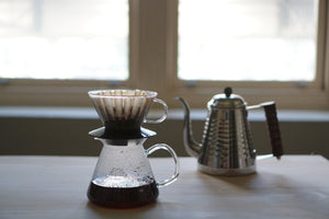 Kalita Wave #185 Glass Dripper Black Dripper Kalita