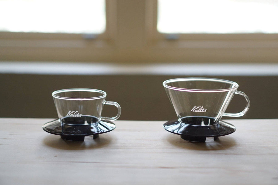 Kalita Wave #185 Glass Dripper Black - Kurasu  - 1