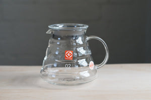 Hario V60 Coffee Server - 600 clear Server Hario Hario Coffee Server - 600 clear