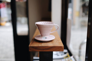"ILCANA Ceramic Dripper 01 ""ILCANA Pink"" Dripper Hario"