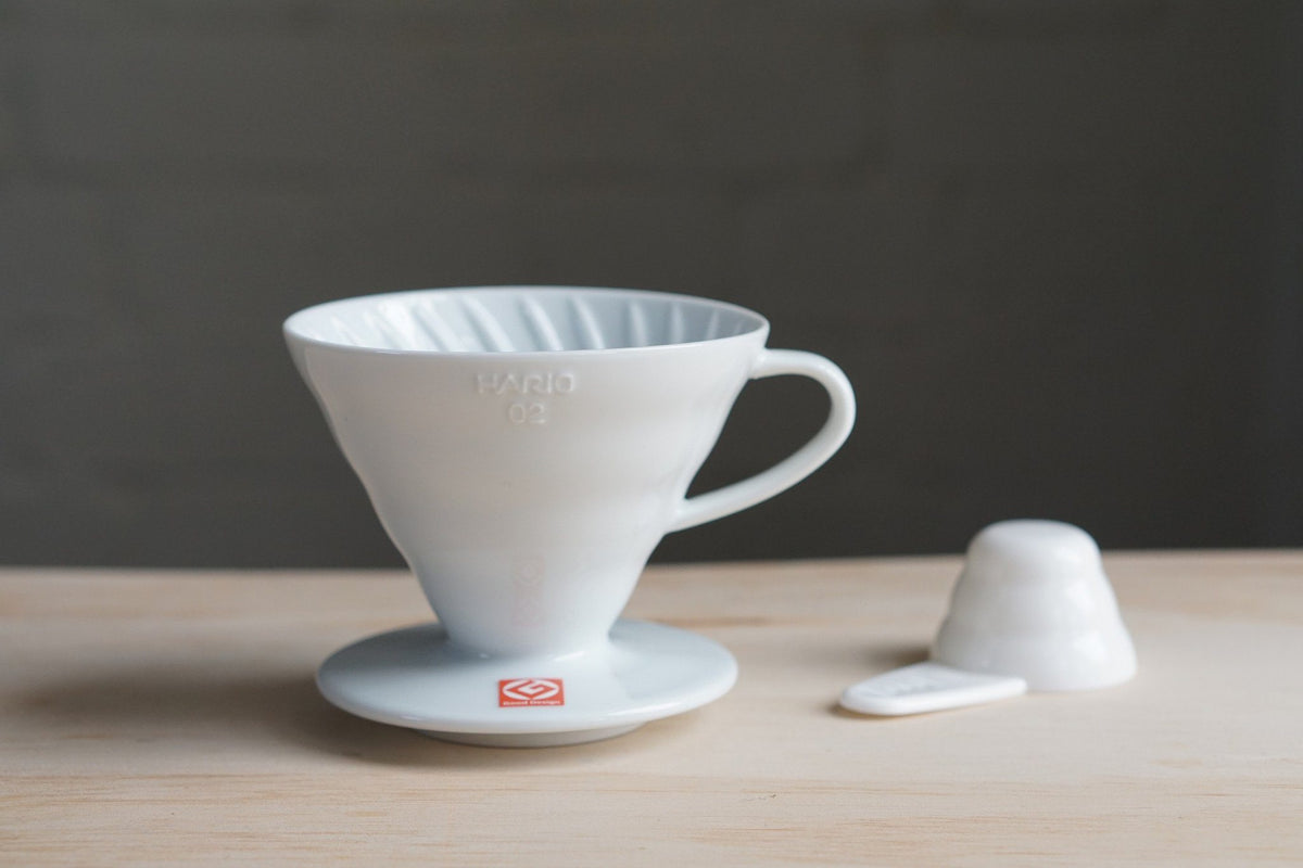 Hario V60 Dripper 02 Ceramic White Dripper Hario Hario V60 Dripper 02 Ceramic White