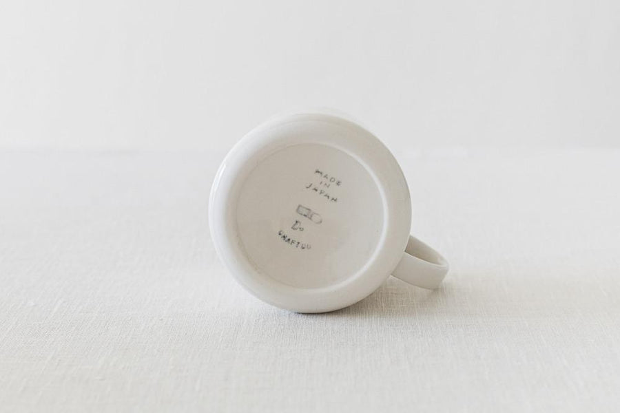 "CLASKA ""DO"" Mug Cup SLIM - White - Kurasu  - 1"