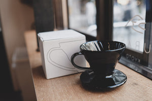 Ceramic Dripper Kurasu Original Black <1-2cups>