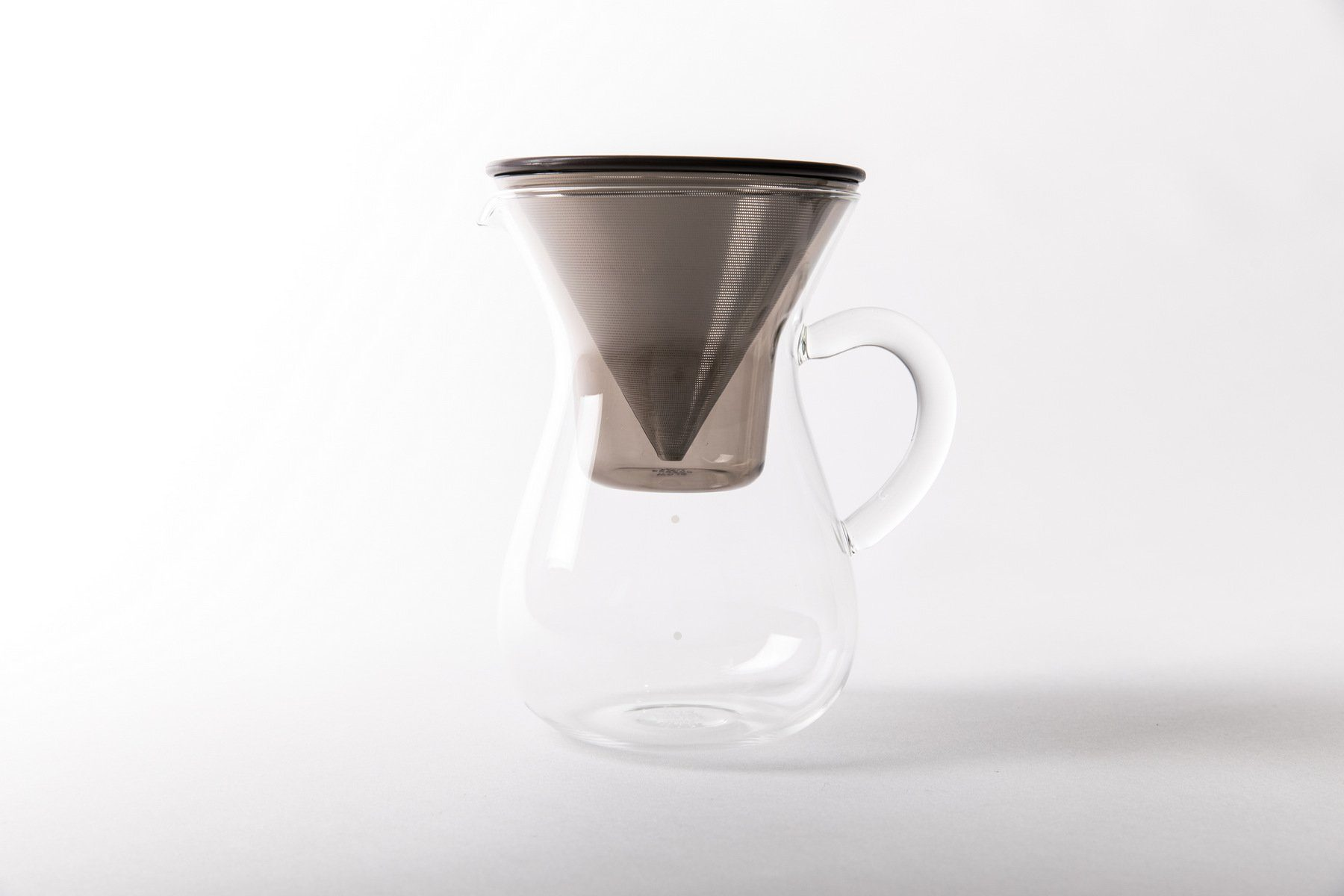 Kinto Stainless Filter Coffee Carafe Set 300ml Filter Kinto